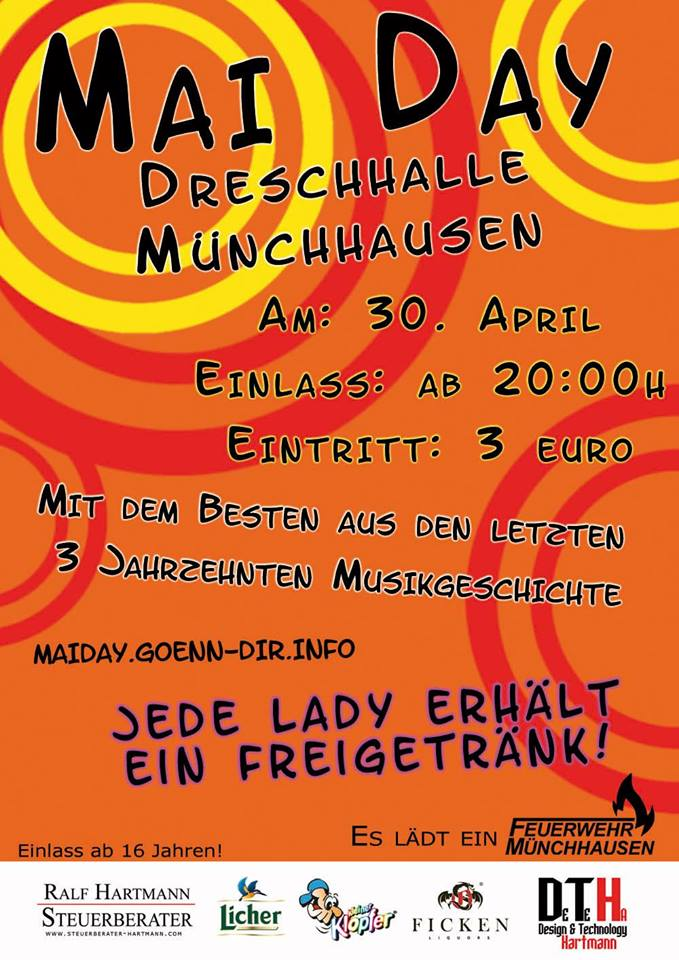 maiday flyer