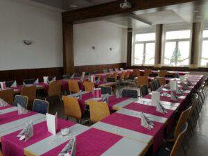Dorfgemeinschaftshaus Münchhausen - E-Bestuhlung
