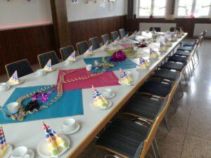 Dorfgemeinschaftshaus Münchhausen - private Feierlichkeiten